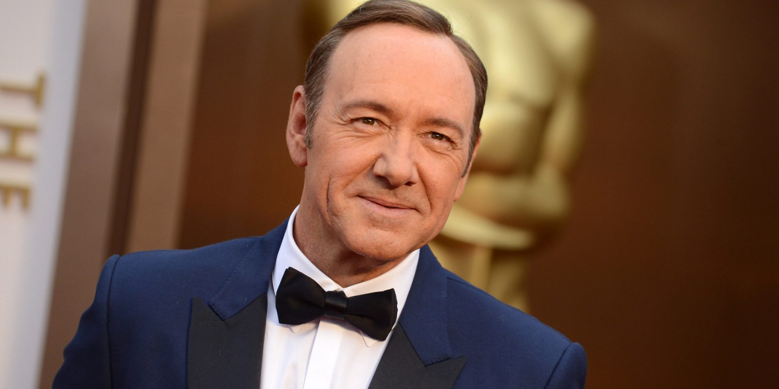 FILE - In this Sunday, March 2, 2014, file photo, actor Kevin Spacey arrives at the Oscars on , at the Dolby Theatre in Los Angeles. Spacey greeted Maryland lawmakers at a wine bar Friday night, March 21, 2014, to help promote an expansion of a tax credit for filming movies and television shows in the state. (Photo by Jordan Strauss/Invision/AP, File)
