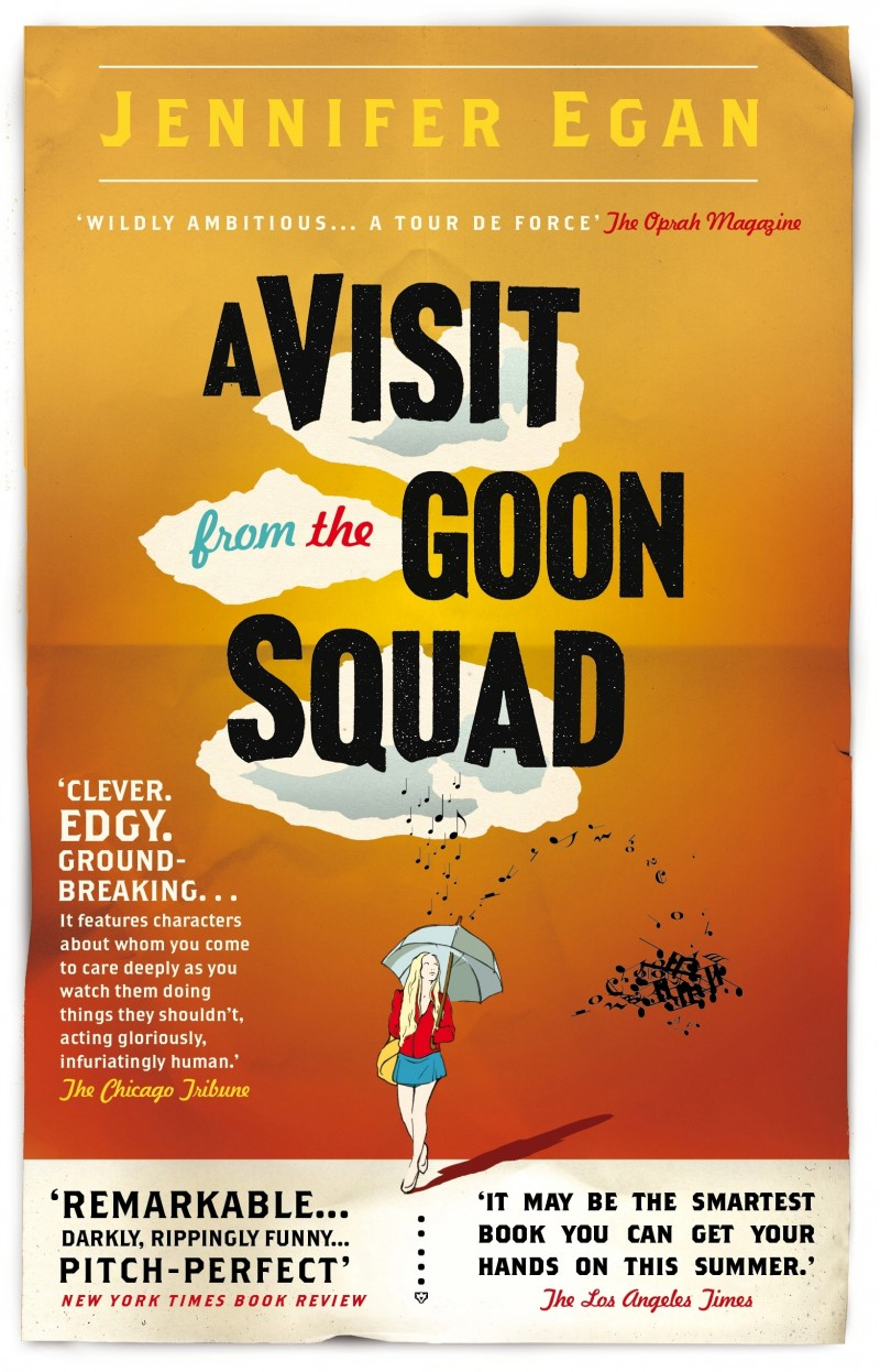 the book pile: a visit from the goon squad;