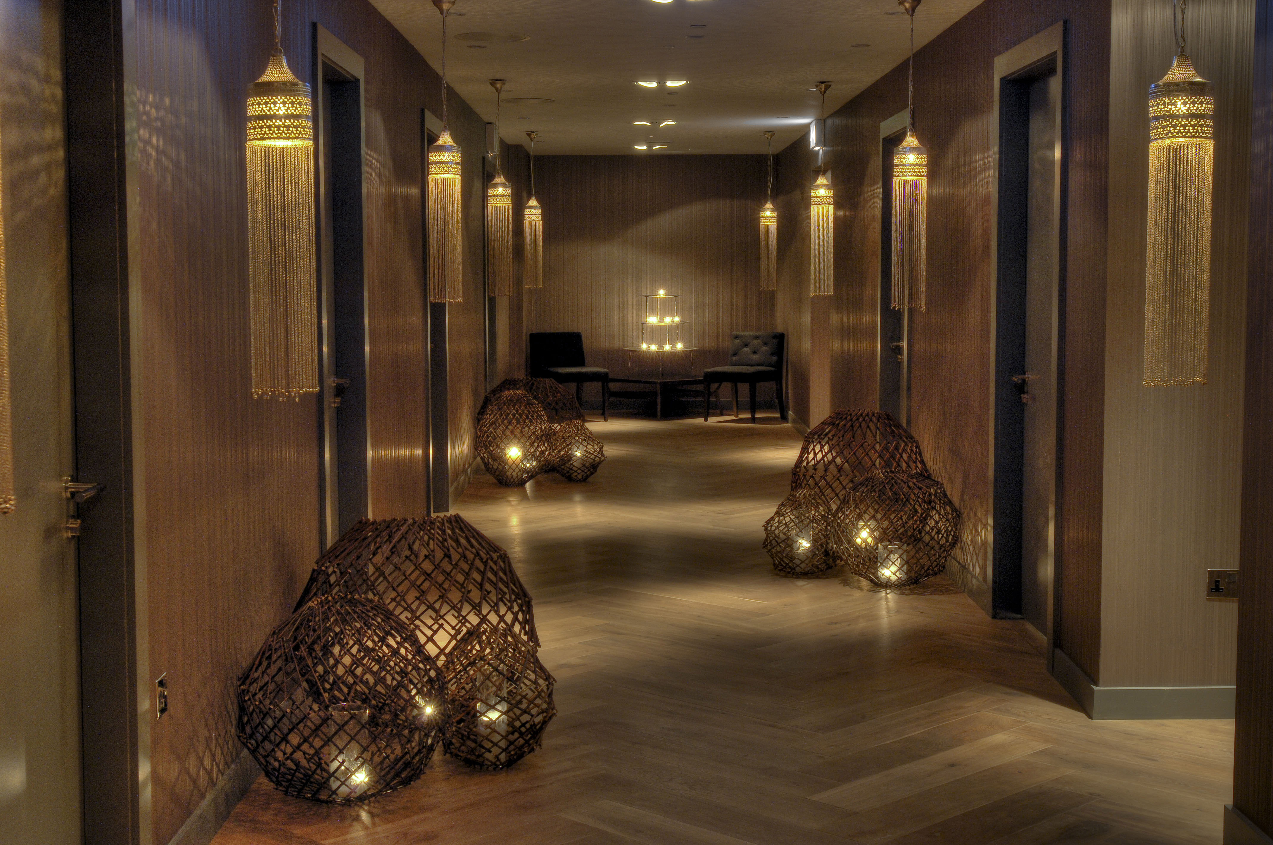Blythswood Spa - treatment room corridor