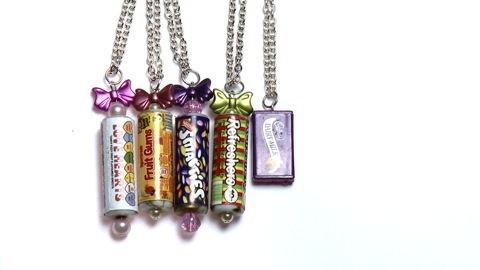 sweetie necklaces by Bunny's Beads