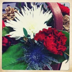 Festive floral arrangement from Wish