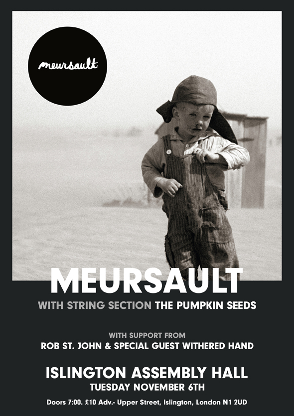 Meursault London poster