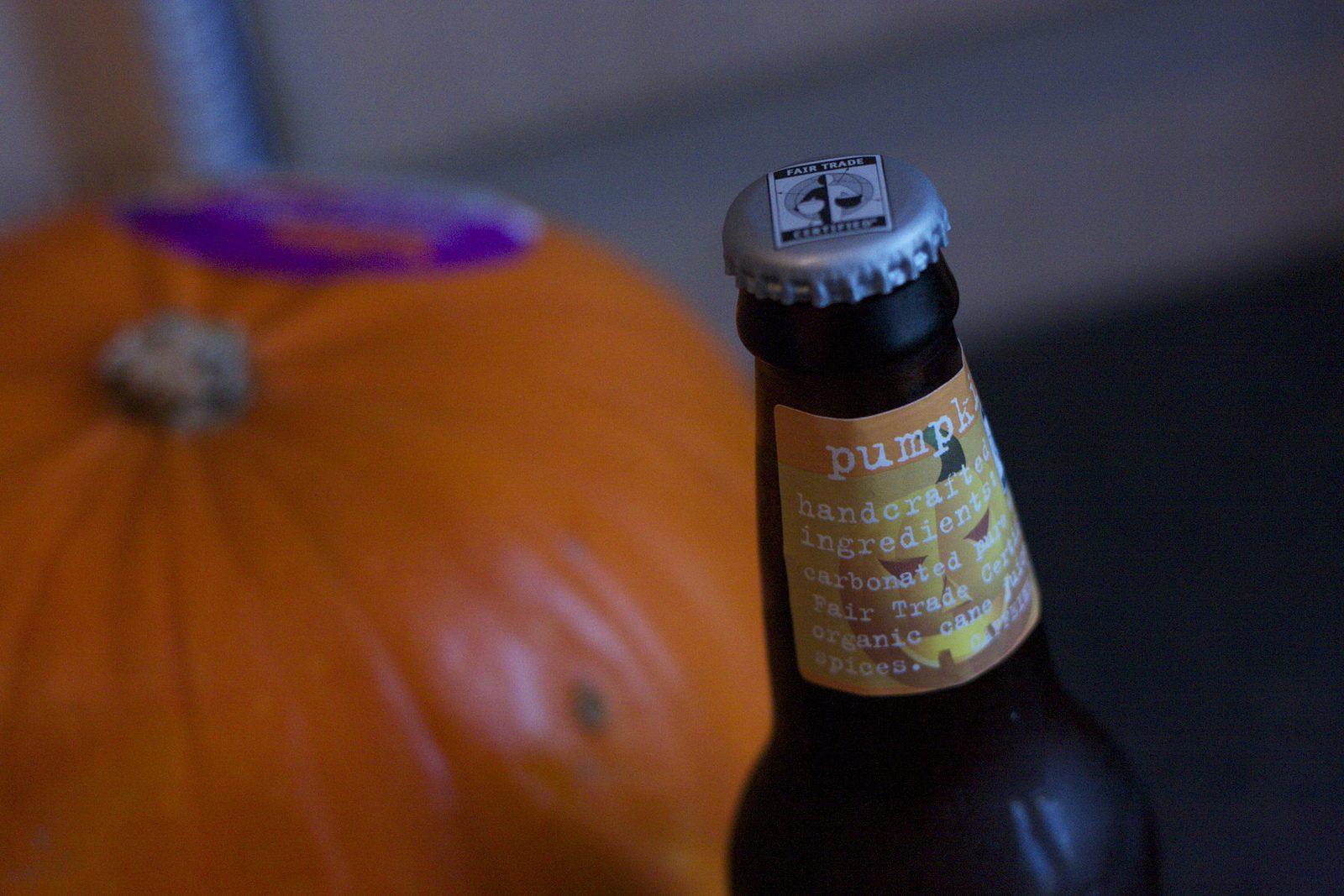 cybercandy family: maine pumpkin pie soda;
