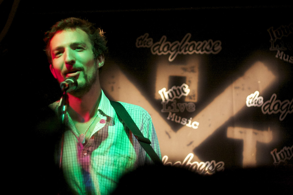 Frank Turner at Dundee Doghouse