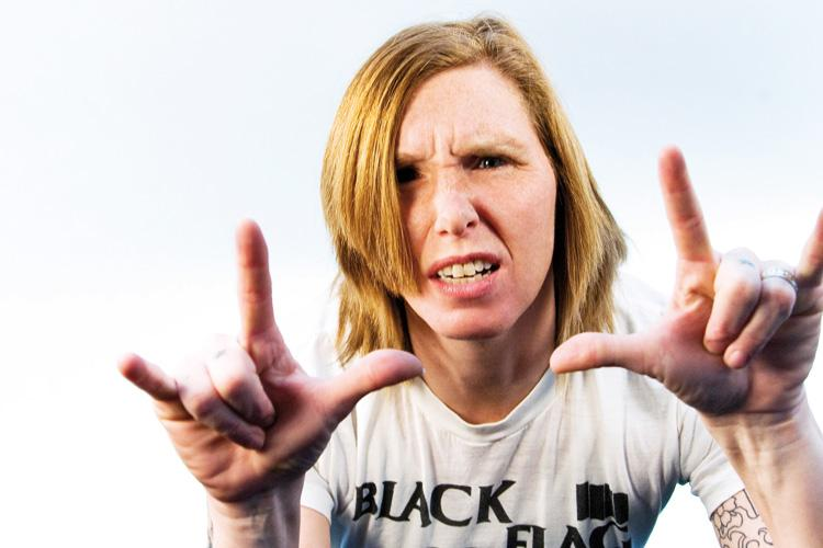 Patty Schemel by Romy Suski