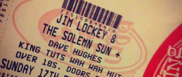 Dave Hughes Tut's ticket