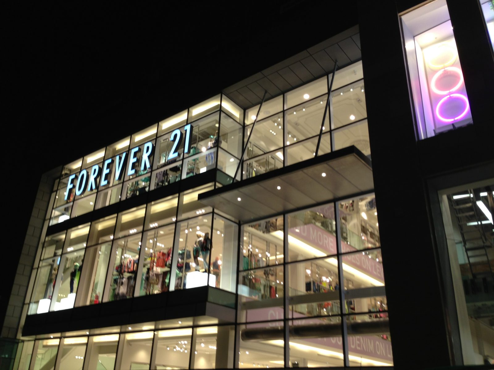 out and about: forever 21;