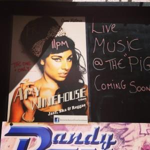 The Spanish New Music Awards-winning Amy Winehouse