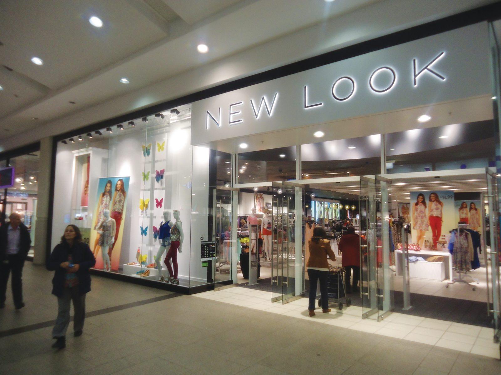 New Look shopfront