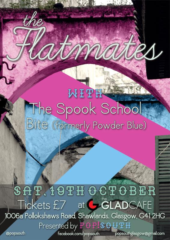 Pop!South Flatmates poster