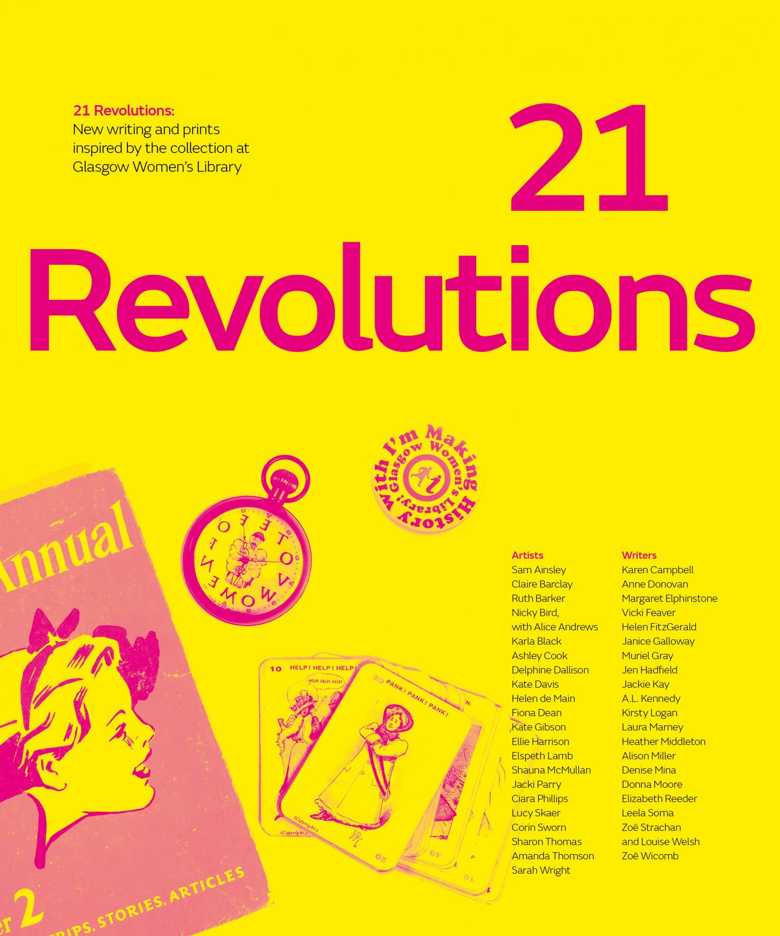 now funding: 21 revolutions;