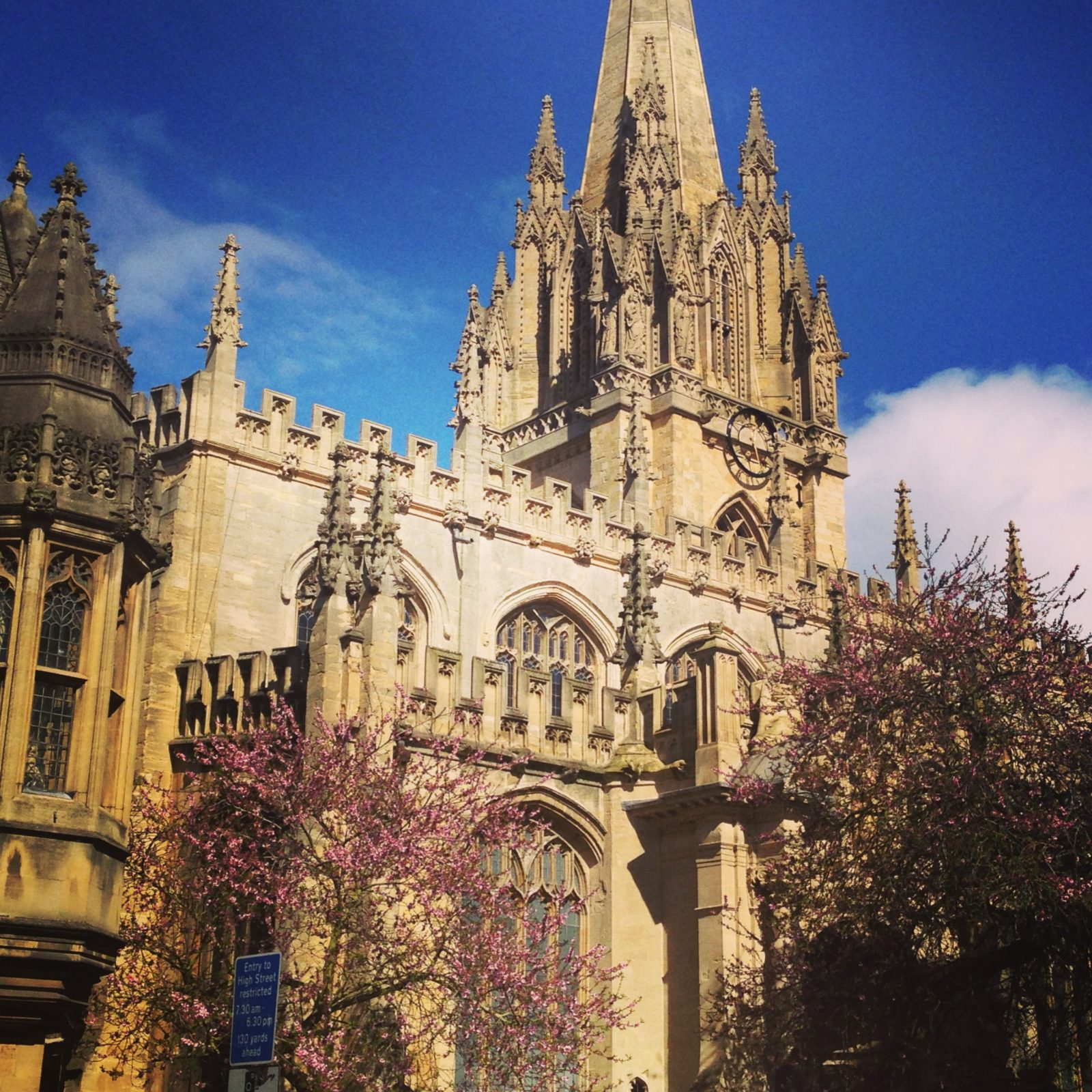 in pictures: last year's girl goes to oxford;