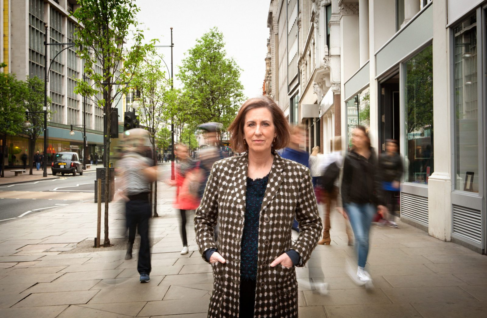 Programme Name: Blurred Lines: The New Battle of the Sexes - TX: n/a - Episode: n/a (No. n/a) - Picture Shows: Kirsty Wark - (C) BBC - Photographer: Emilie Sandy