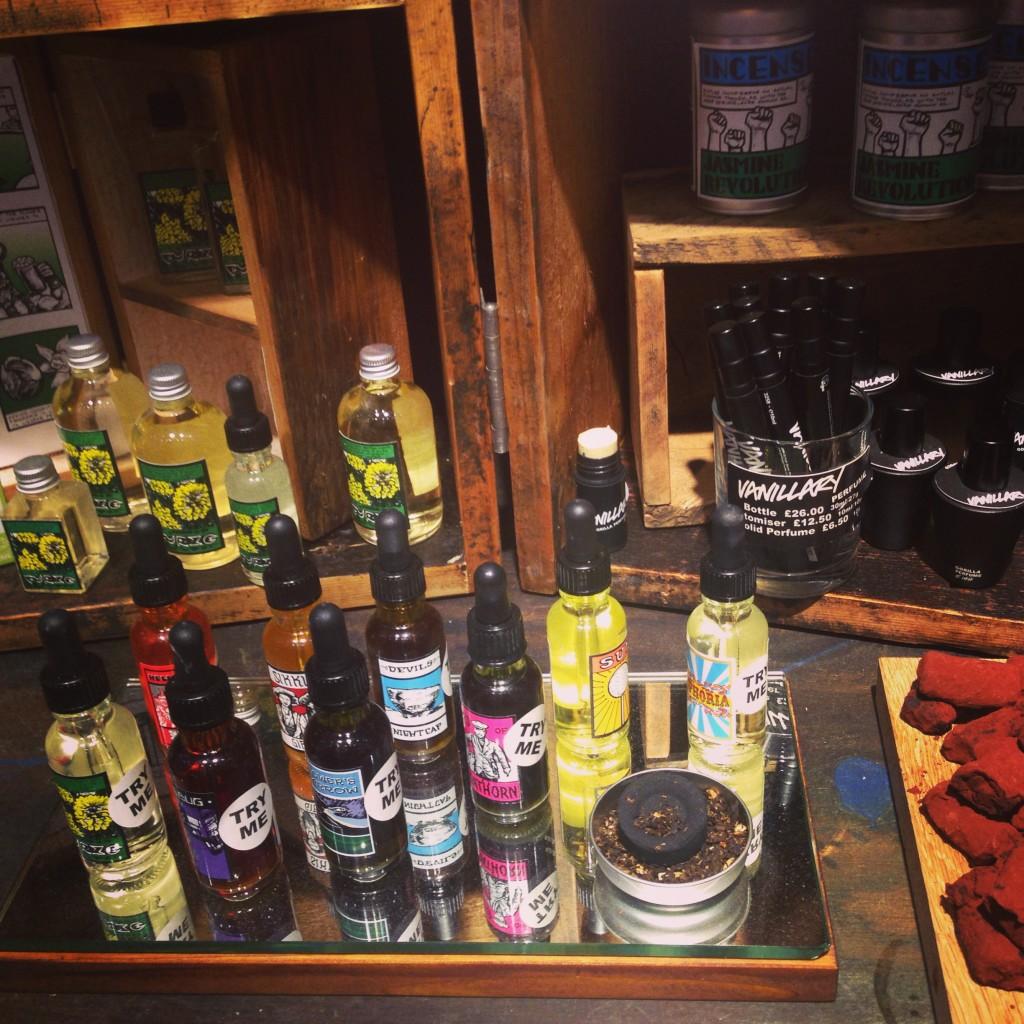Gorilla Perfume cabinet of wonders at the new Lush Buchanan St