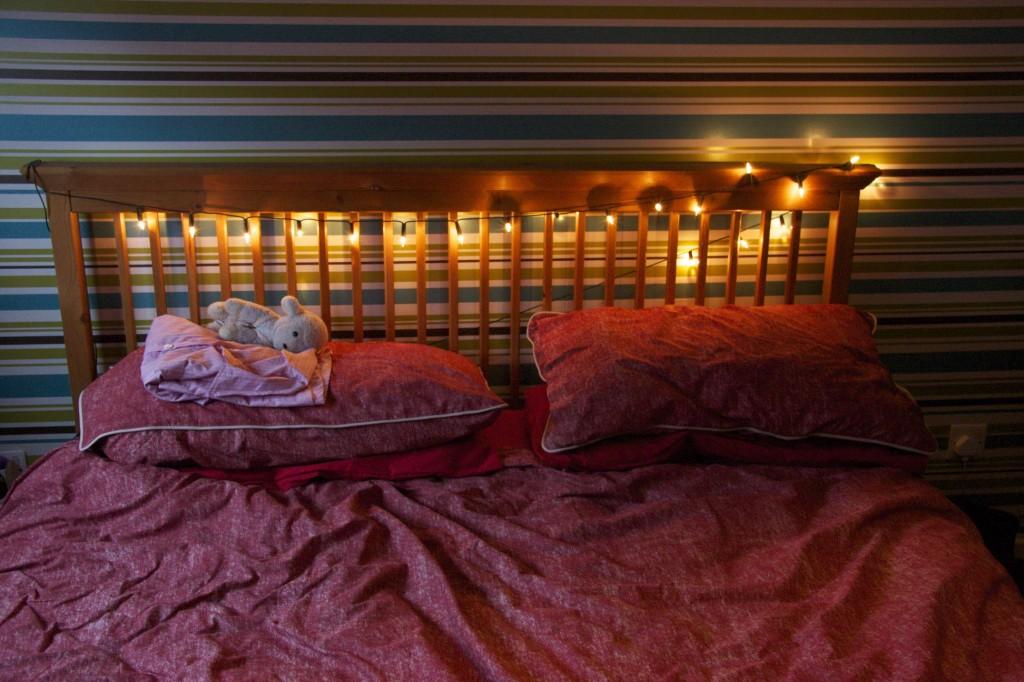Fairy lights - Bedroom