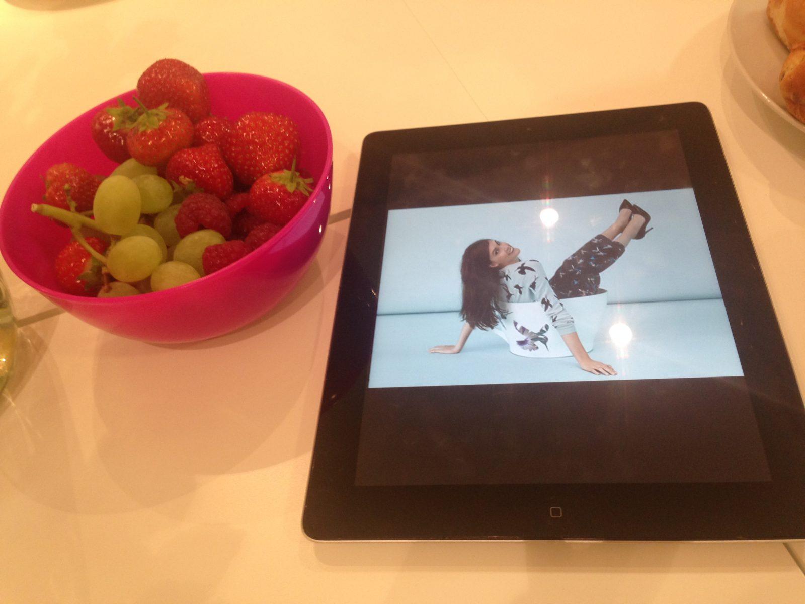 Oasis blogger breakfast