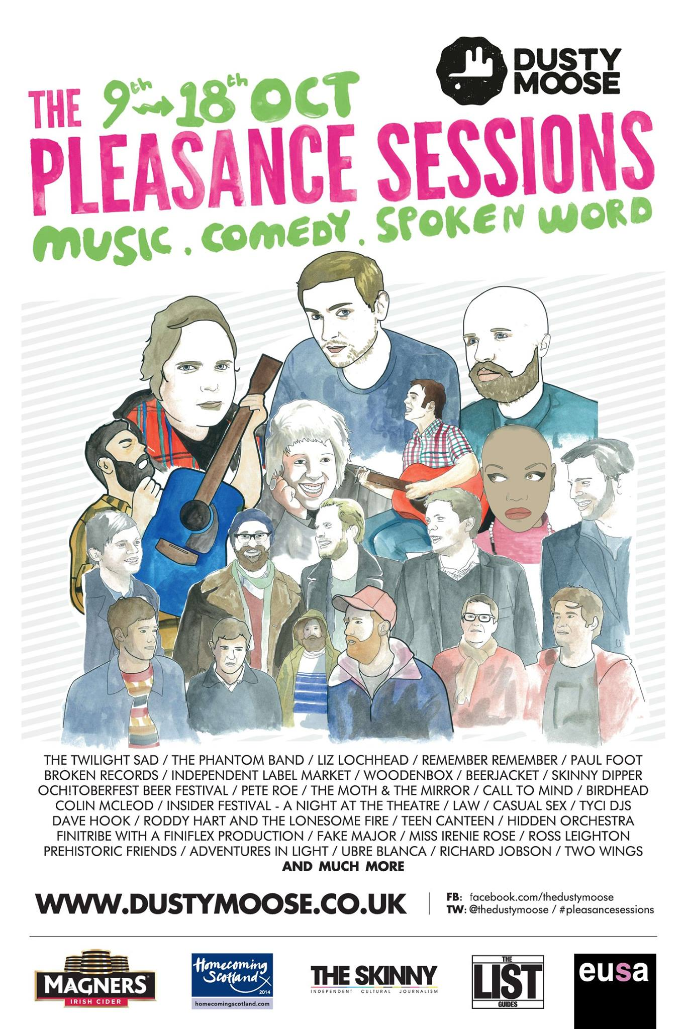 out and about goes east: the pleasance sessions;