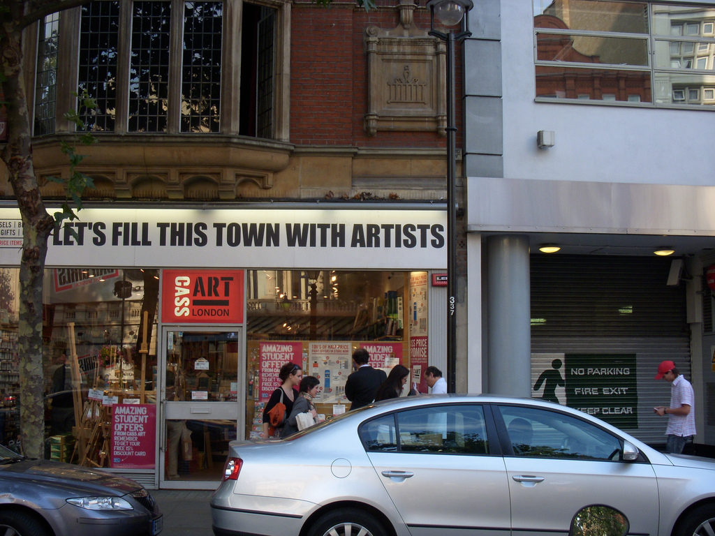 Cass Art: Let's Fill This Town With Artists