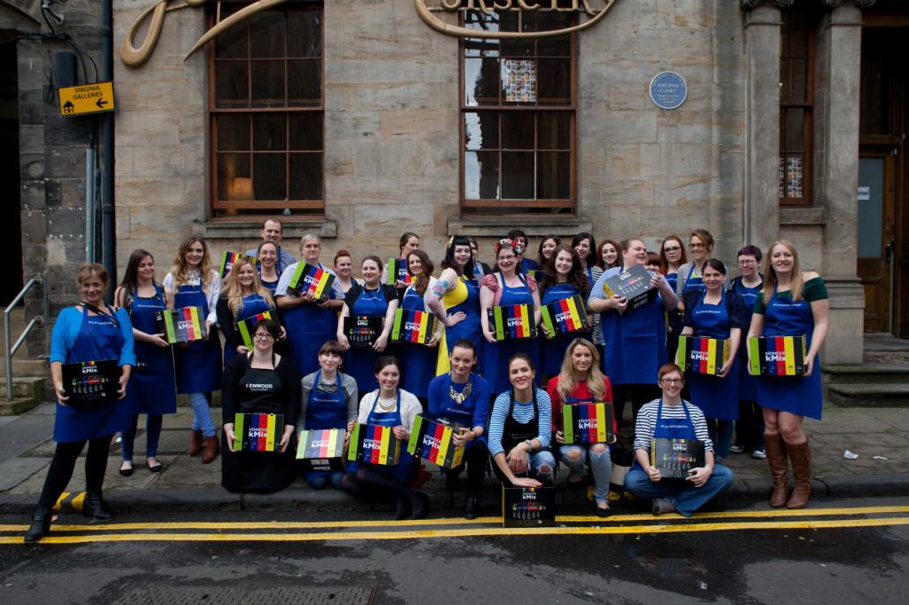 #currysinthekitchen Glasgow Blogger Bake-Off, used courtesy of Joe Blogs