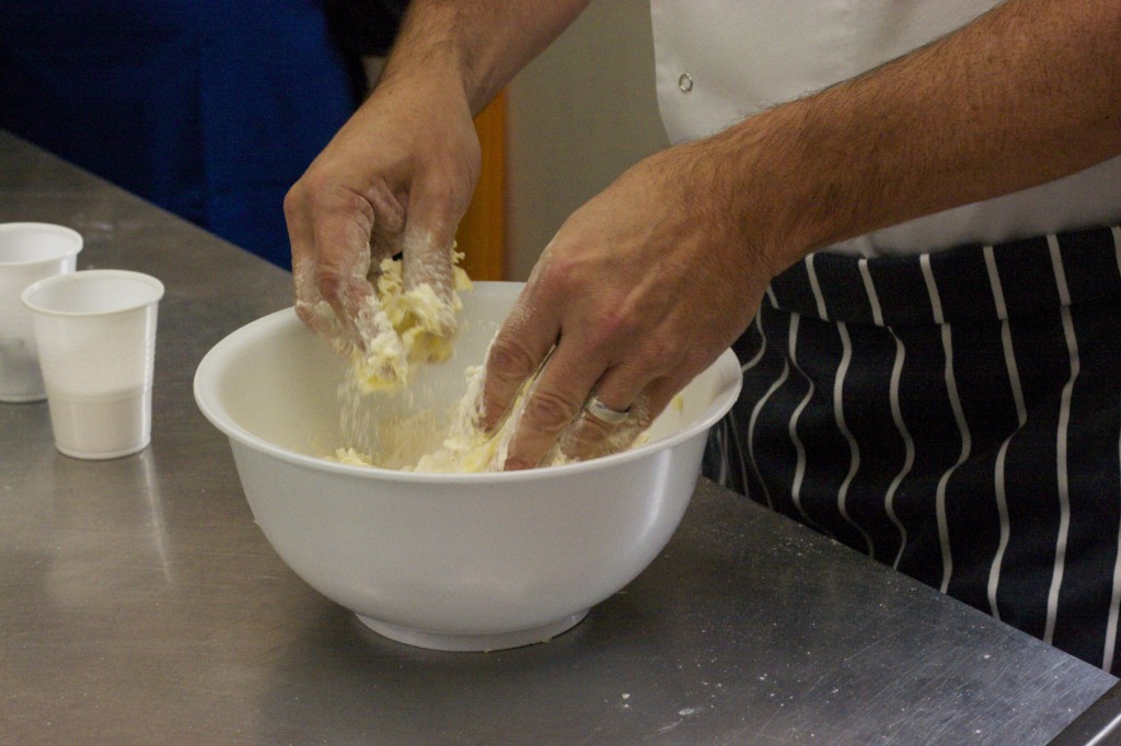 Cookery School chef Danny McCardle demonstrates how to make scones