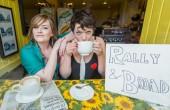 Jenny Lindsay (left) and Rachel McCrum of Rally & Broad