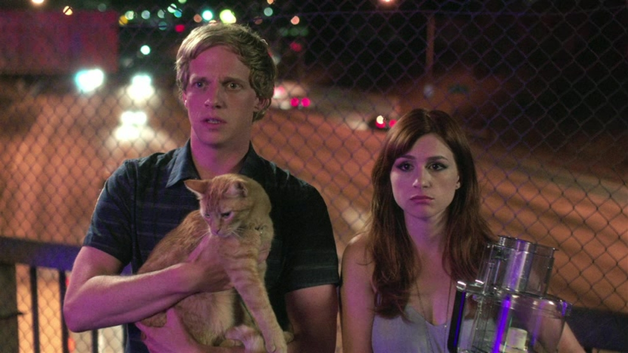 Chris Geere and Aya Cash in You're The Worst