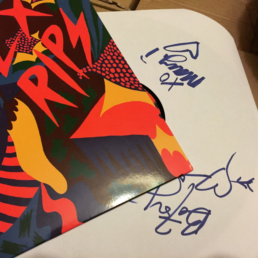 Ex Hex - Rips signed by Mary Timony and Betsy Boots
