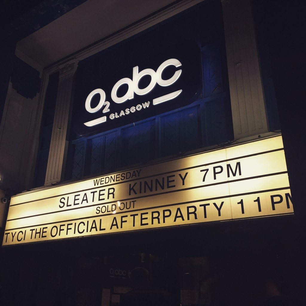 TYCI Official Sleater-Kinney Afterparty, O2 ABC, March 2015
