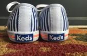 Keds by Oasis - stripe lace-ups