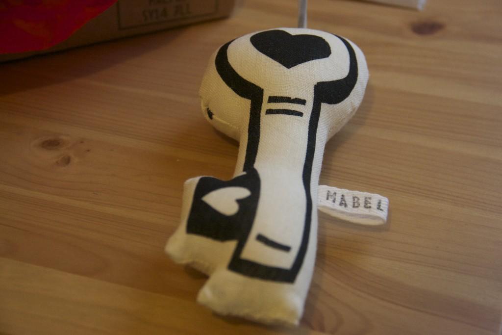 Stocking Box - The Big Key Mabel & Bird key-ring