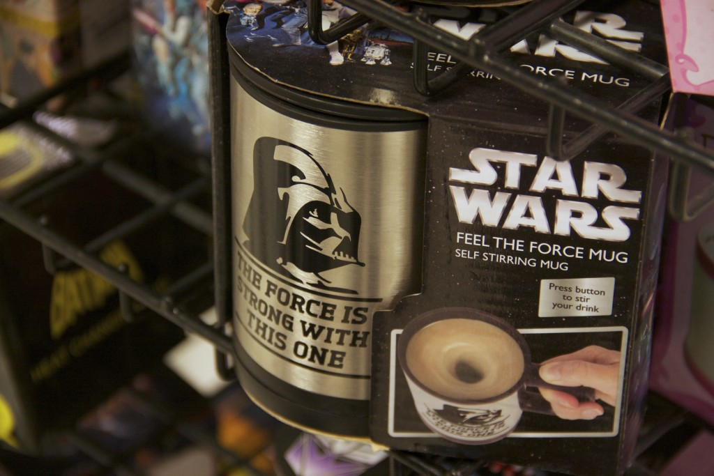St Enoch Centre: Star Wars Feel the Force mug from Debenhams