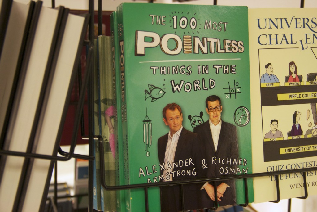 St Enoch Centre: Most Pointless Things in the World book from Debenhams