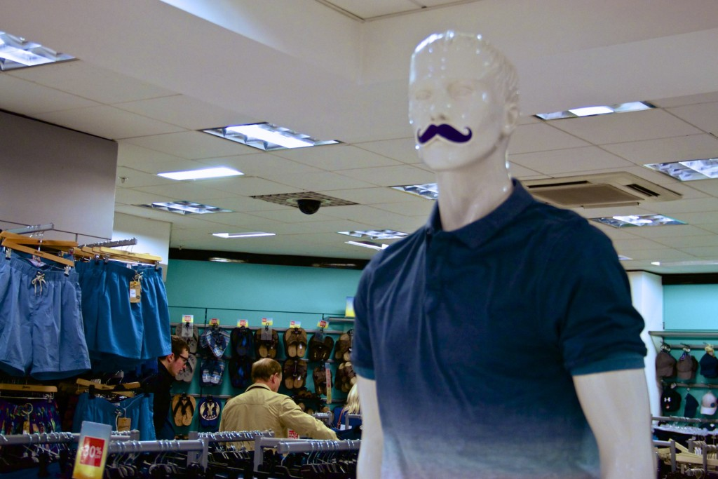 St Enoch Centre - Debenhams mannequins
