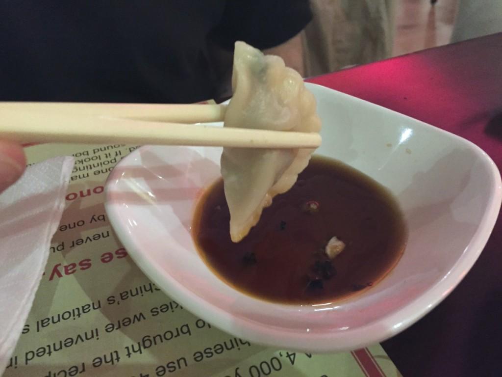 Chop Chop Chinese restaurant - dumplings