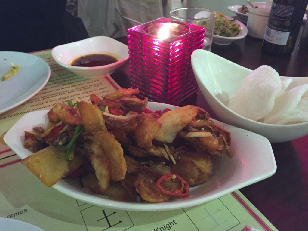 Chop Chop Chinese restaurant - fried potato