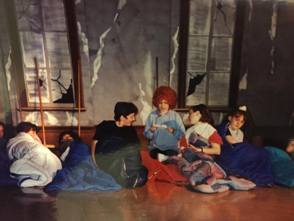 Lis as Annie, 1995
