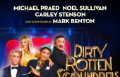 Dirty Rotten Scoundrels UK tour poster