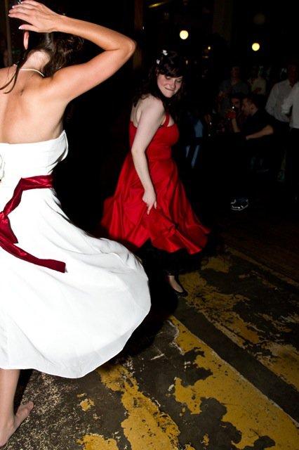 Cha & Eesmee dancing