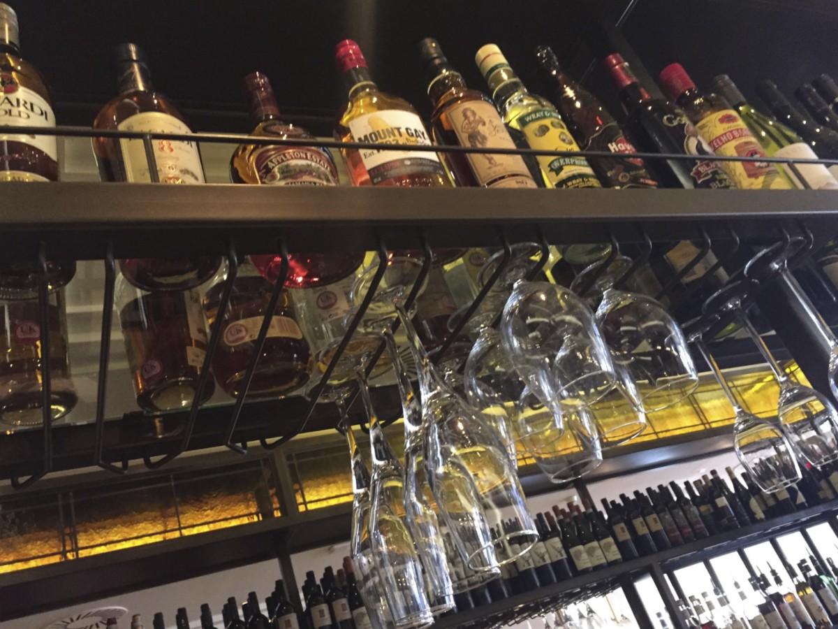 Gusto Glasgow bar