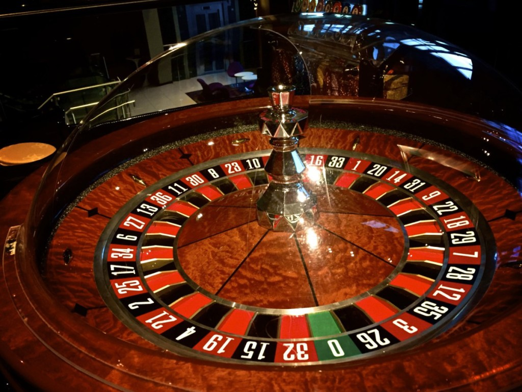 The Colour Report - Roulette wheel at Alea Casino