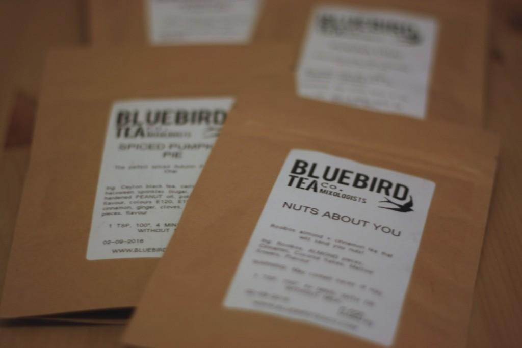 Bluebird Tea Co - Autumn 2015