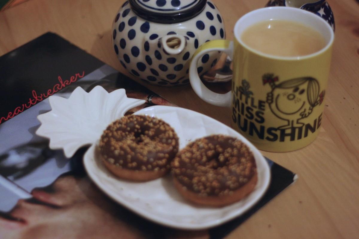 last year's postbox: bluebird tea co. autumn collection;