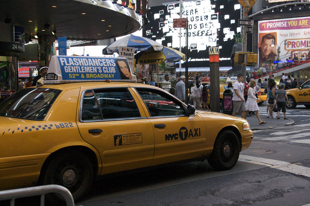 New York taxi, 2006
