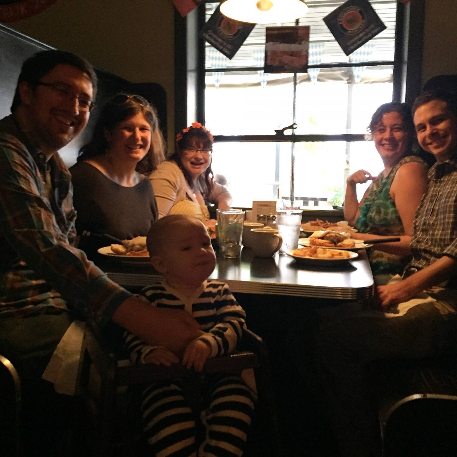 Brunch at Milltown, Carrboro with my friends