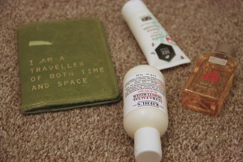 Choosing and packing your holiday toiletries