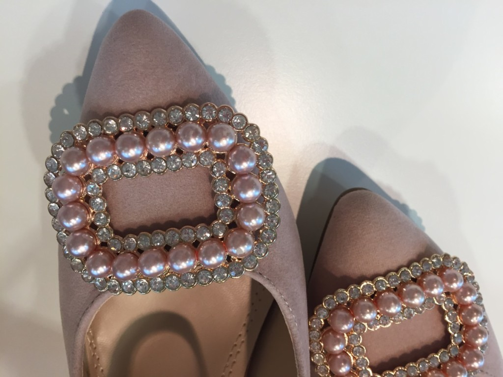 Modcloth Stylish Surprise - rosewater pearl shoes