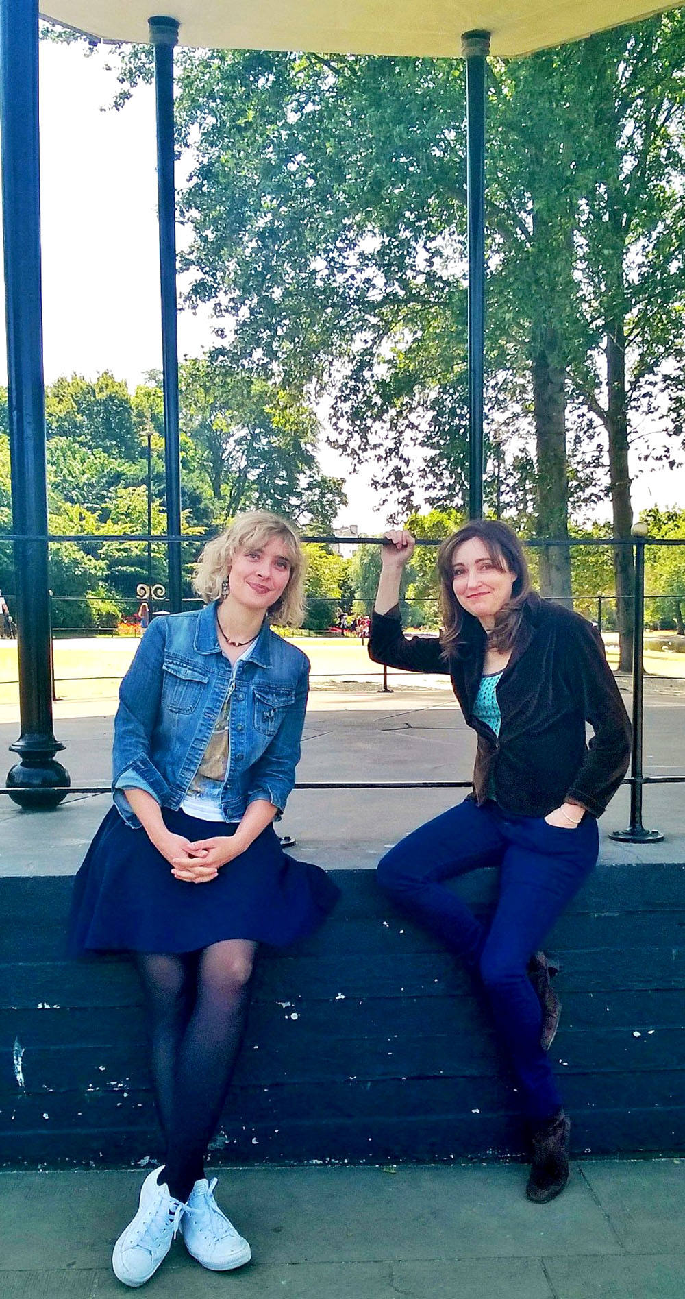 Kate Mossman and Viv Albertine in Girl in a Band: Tales from Rock 'n' Roll's Front Line