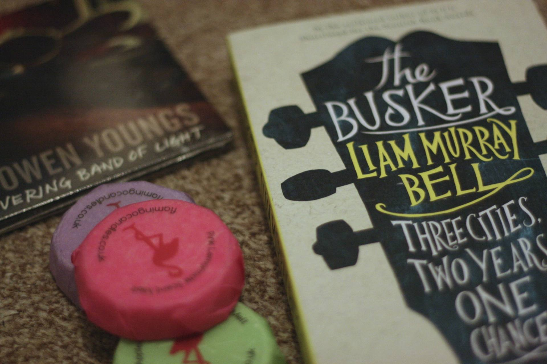 The Busker by Liam Murray Bell - Last Year's Giveaway
