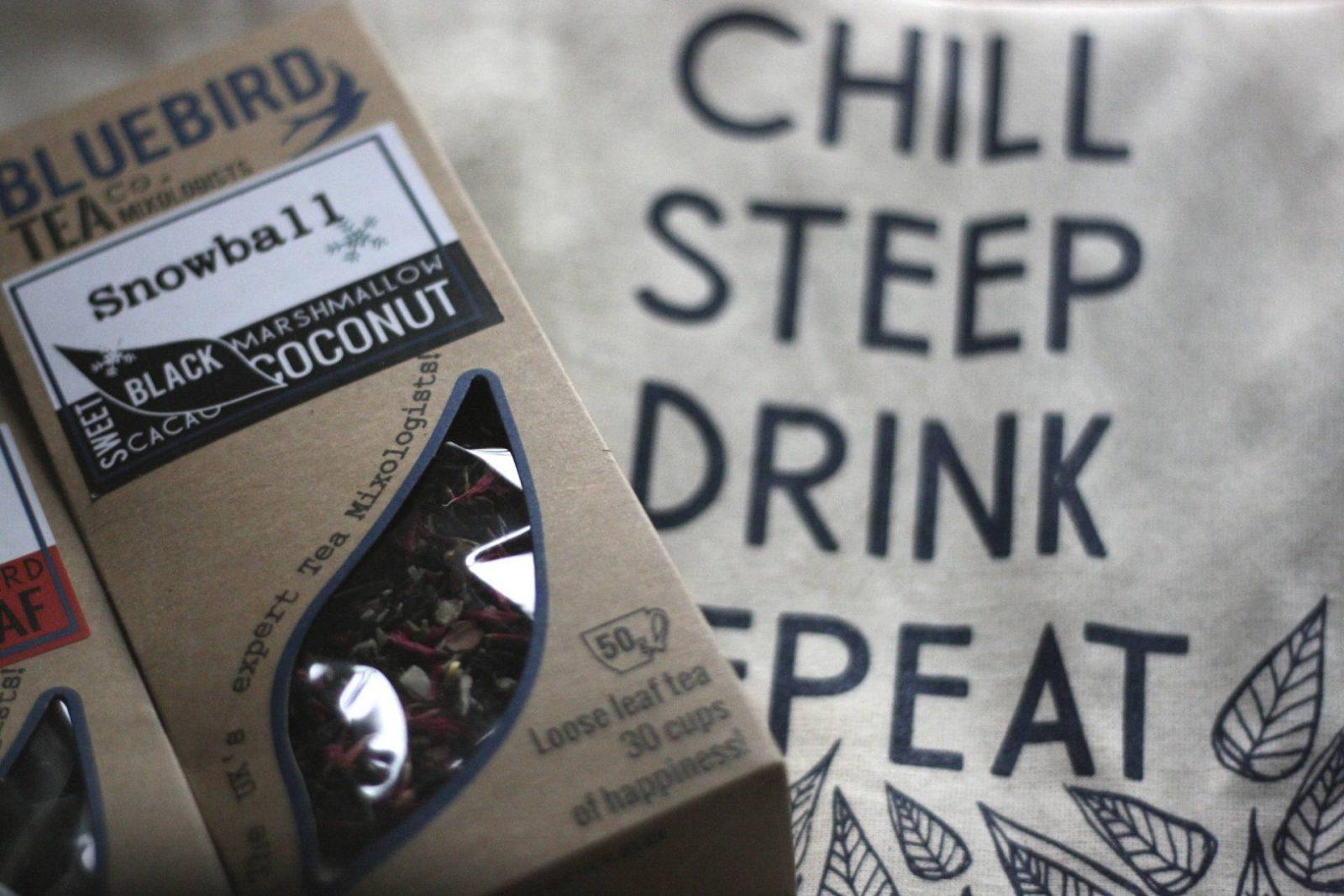 christmas 2015: festive brews from bluebird tea company;