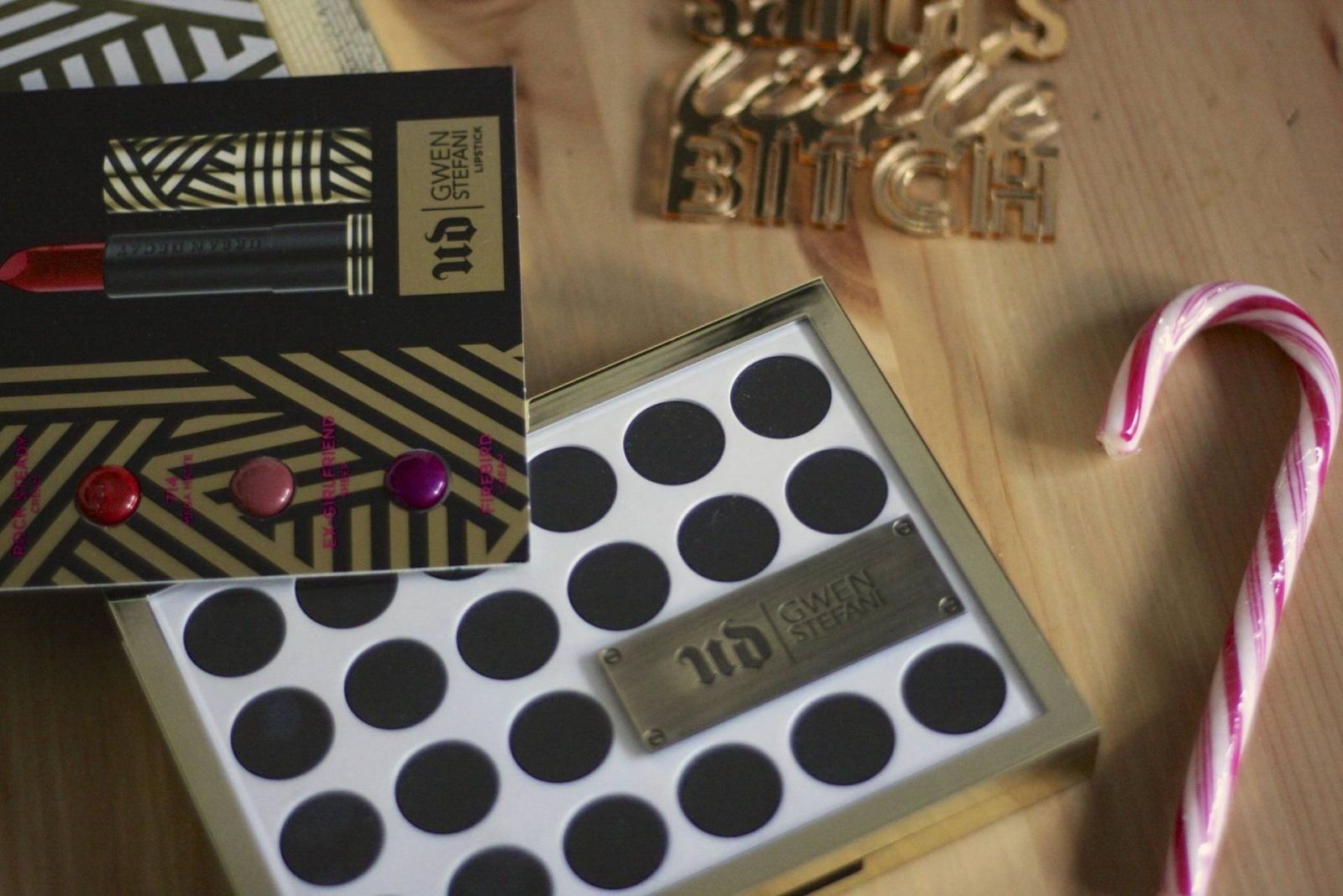 New Year party makeup - Urban Decay Gwen Stefani palette